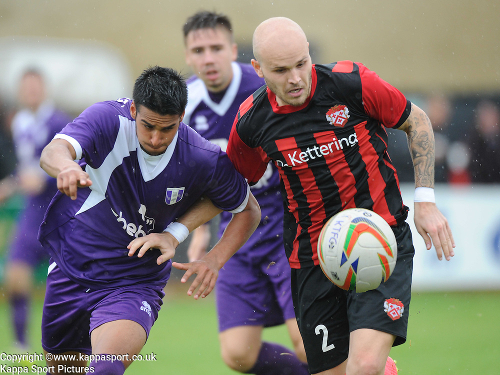 James Cllfton, Kettering, Kettering Town v Daventry Town Southern League Division One Central, 25th August 2014