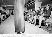 The Front row at the Bill Blass fashion show. New York. 1992 © Copyright Photograph by Dafydd Jones<br />66 Stockwell Park Rd. London SW9 0DA<br />Tel 0171 733 0108