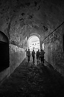 Tunnel Leading to Courtyard from Slave Dungeons