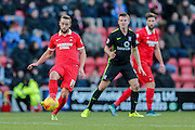 Leyton Orient midfielder Sammy Moore  during the Sky Bet League 2 match between Leyton Orient and York City at the Matchroom Stadium, London, England on 21 November 2015. Photo by Simon Davies.