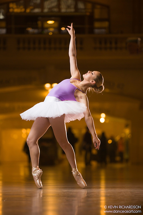 Dance As Art The New York City Photography Project Grand Central Terminal Series with ballerina Sari Thaler