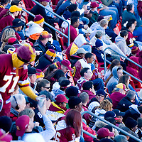 Washington Redskins Fans enjoying the game against the Philadelphia Eagles on November 11, 2007 at Fedex Field in Landover, Maryland Aerial views of artistic patterns in the earth.