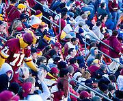 Washington Redskins Fans enjoying the game against the Philadelphia Eagles