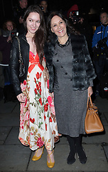 Arlene Phillips and her daughter Abi at the English National Ballet Christmas party held in London, Wednesday, 14th December 2011.  Photo by: Stephen Lock / i-Images