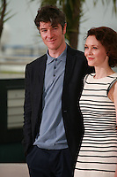 actor Barry Ward and Actress Simone Kirby at the photo call for the film Jimmy's Hall at the 67th Cannes Film Festival, Thursday 22nd May 2014, Cannes, France.
