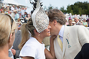EMMA SPENCER; THE EARL OF MARCH, Glorious Goodwood. Thursday.  Sussex. 3 August 2013