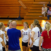 09-27-14 Berryville Jr. High Volleyball vs. Green Forest