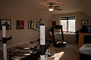 Large bonus room above garage could be used as a bedroom.  Has a private doorway to the bathroom.  Wired for phone, ethernet and cable.