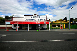 NEW ZEALAND KAWHIA 15DEC07 - Kawhia General Store, northern island, New Zealand...jre/Photo by Jiri Rezac..© Jiri Rezac 2007..Contact: +44 (0) 7050 110 417.Mobile:  +44 (0) 7801 337 683.Office:  +44 (0) 20 8968 9635..Email:   jiri@jirirezac.com.Web:    www.jirirezac.com..© All images Jiri Rezac 2007 - All rights reserved.