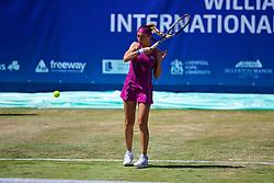 LIVERPOOL, ENGLAND - Friday, June 22, 2018: Alexandra Cadantu (ROU) during day two of the Williams BMW Liverpool International Tennis Tournament 2018 at Aigburth Cricket Club. (Pic by Paul Greenwood/Propaganda)
