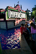 USA, Los Angeles California, Universal Studios Citywalk