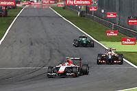 Max Chilton (GBR) Marussia F1 Team MR03.<br /> Italian Grand Prix, Sunday 7th September 2014. Monza Italy.