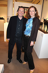 SEBASTIAN CONRAN and GERTRUDE THOME at the annual Sotheby's Summer Party held at their auction rooms 34-35 New Bond Street, London W1 on 19th June 2008.<br /><br />NON EXCLUSIVE - WORLD RIGHTS