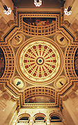 PA Capitol Complex, Harrisburg, PA Rotunda Art, Joseph Huston Architect, Edwin Abbey, Artist