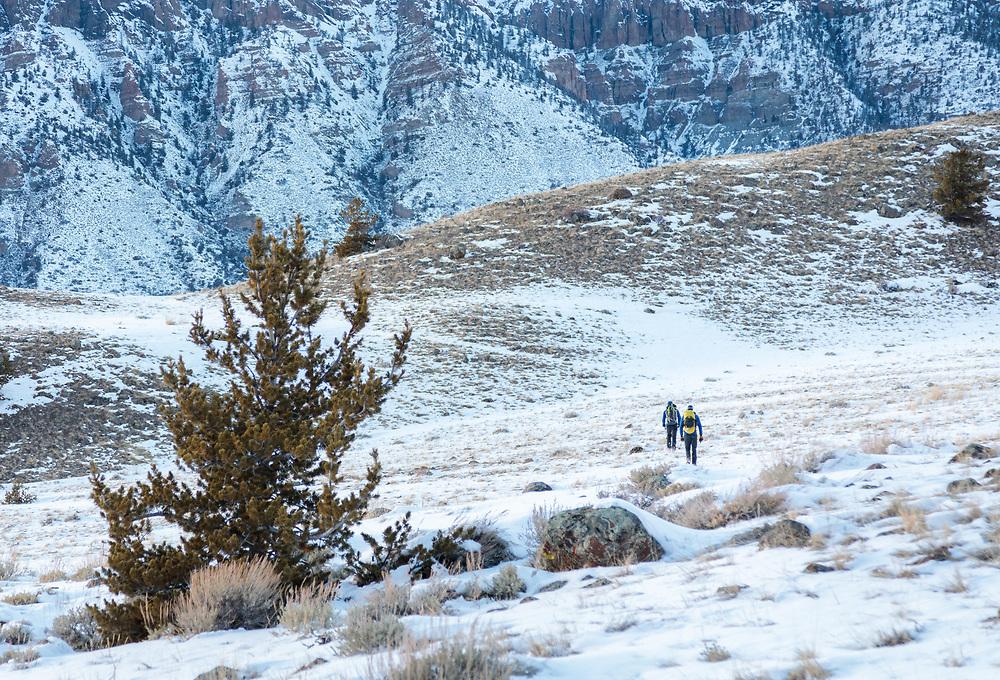 Ice Climbing in Cody, Wyoming