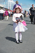 29/07/2013 Mary Angela Mulkere from Crusheen  at the first evening of the Galway Races. Picture :  Andrew Downes.