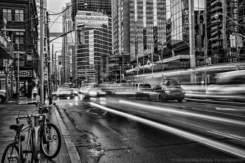 Bay & Dundas Streets, Downtown Toronto