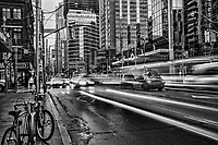 Bay & Dundas Streets, Downtown Toronto