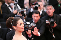 at the gala screening of the film De rouille et d'os at the 65th Cannes Film Festival. Thursday 17th May 2012, the red carpet at Palais Des Festivals in Cannes, France.