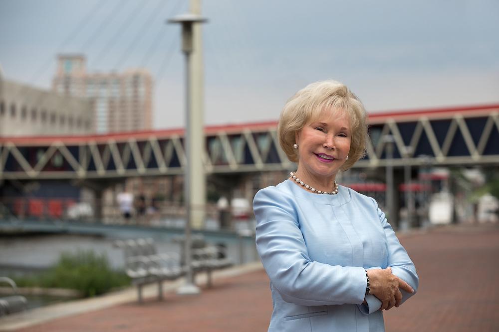 Dr Nancy Grasmick, Board Member at the National Aquarium   August 6, 2015