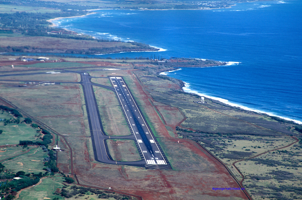 Runway Kauai Hawaii Commercial Airports