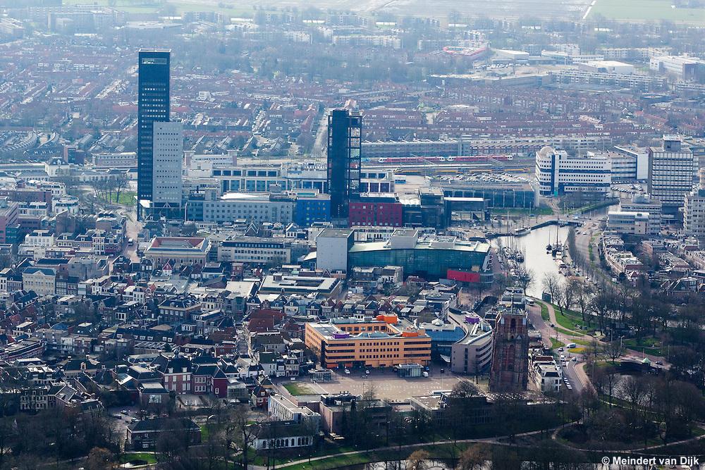 Luchtfoto Leeuwarden