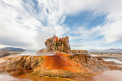 """Fly Geyser 3"" - Photograph of the famous man made Fly Geyser in Nevada."