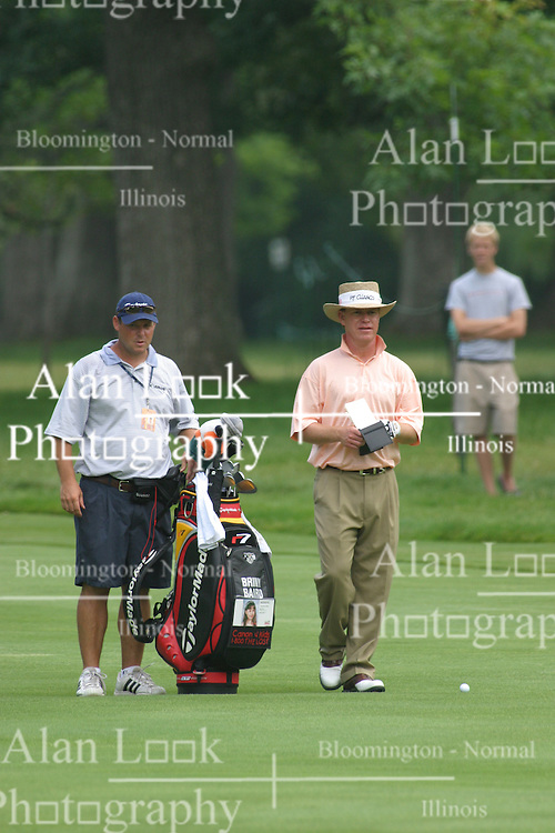 28 June 2005<br /> <br /> Briny Baird.<br /> <br /> Tuesday practice session at the 2005 Cialis Western Open. Dubsdread, Cog Hill Golf Course, Lemont, IL