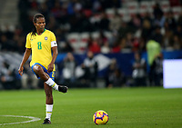 "International Women's Friendly Matchs 2018 / <br /> France v Brazil 3-1 ( Allianz Riviera Stadium - Nice,France ) - <br /> Miraildes Mota "" Formiga "" of Brazil"