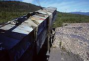 Dredge, gold dredge, Gold Mining, Gold, Gold Panning, Yukon-Charley Rivers National Preserve, Eagle, Alaska