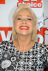 TV Choice Awards 2013 - London.<br /> Denise Welch arriving at the TV Choice Awards 2013, The Dorchester Hotel, London, United Kingdom. Monday, 9th September 2013. Picture by Chris  Joseph / i-Images