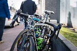 Cylance's Cannondale's driven by SRAM - Le Samyn des Dames 2016, a 113km road race from Quaregnon to Dour, on March 2, 2016 in Hainaut, Belgium.