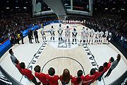Inno nazionale<br /> A|X Armani Exchange Milano - Segafredo Virtus Bologna<br /> Lega Basket Serie A<br /> Milano 27/01/2019<br /> Foto : Ivan Mancini / Ciamillo