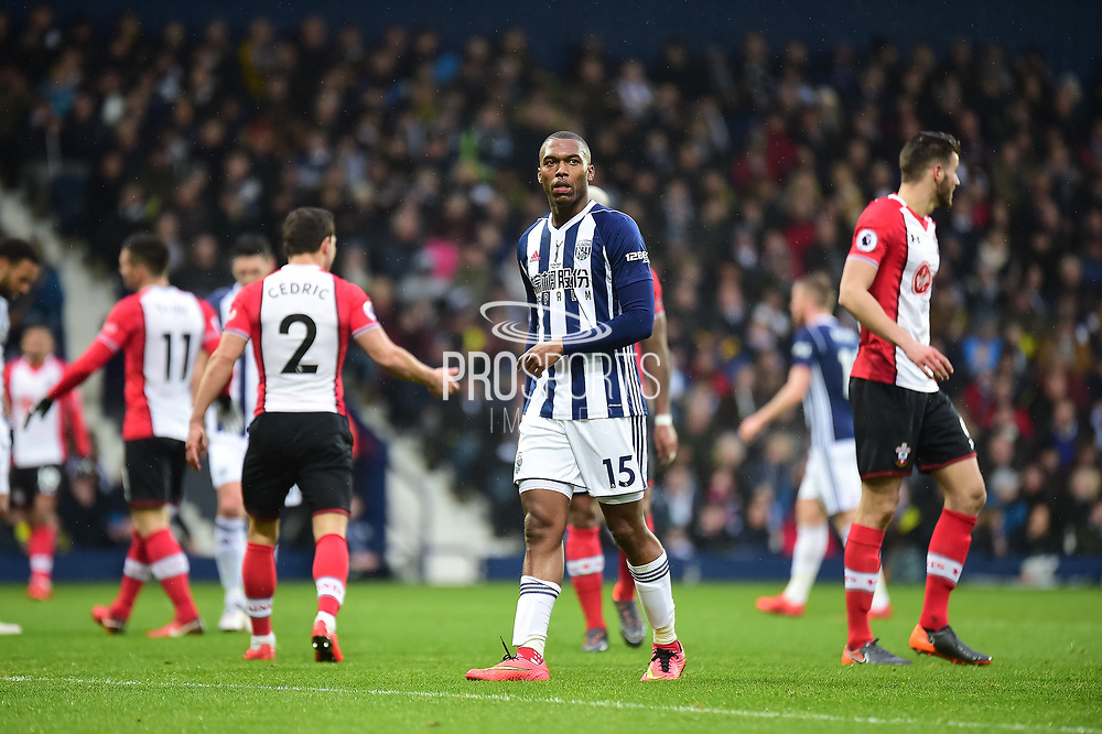 West Bromwich Albion striker (on loan from Liverpool) Daniel Sturridge (15) during the Premier League match between West Bromwich Albion and Southampton at The Hawthorns, West Bromwich, England on 3 February 2018. Picture by Dennis Goodwin.