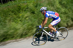 Uros Murn of Adria Mobil at route of 4th stage of Tour de Slovenie 2009, on May 28, 2009, Slovenia. (Photo by Vid Ponikvar / Sportida)