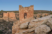 Stronghold House ruins, Hovenweep National Monument, Arizona