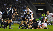 Twickenham, GREAT BRITAIN Scotland attacking, during the  England vs Scotland, Calcutta Cup Rugby match played at the  RFU Twickenham Stadium on Sat 03.02.2007  [Photo, Peter Spurrier/Intersport-images]....