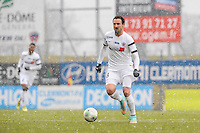 Gregory THIL - 24.01.2015 - Clermont / Chateauroux  - 21eme journee de Ligue2<br />