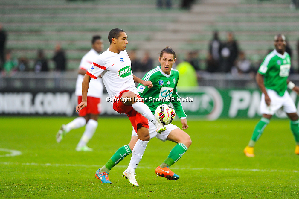 Jonathan IGLESIAS  - 04.01.2015 - Saint Etienne / Nancy - Coupe de France<br /> Photo : Jean Paul Thomas / Icon Sport