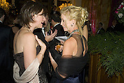 Mrs.  Russell Sternlicht AND Jill Collins. Crillon Debutante Ball 2007,  Crillon Hotel Paris. 24 November 2007. -DO NOT ARCHIVE-© Copyright Photograph by Dafydd Jones. 248 Clapham Rd. London SW9 0PZ. Tel 0207 820 0771. www.dafjones.com.