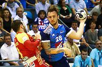 Valentin Porte - 03.05.2015 - France / Macedoine - Qualifications Championnats d'Europe -Toulouse<br />Photo : Manuel Blondeau / Icon Sport