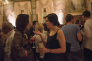 ALEXA HENTSCH; ALEXANDRA WALDMAN, Okwui Enwezor and Vinyl Facorty hosted party at Ca'Sagredo, Campo Santa Sofia Venice Biennale, Venice. 5 May 2015