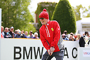 Chris Evans at the BMW PGA Championship Celebrity Pro-Am Challenge at the Wentworth Club, Virginia Water, United Kingdom on 20 May 2015