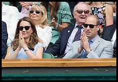 Duchess & Duke of Cambridge at Wimbledon - 14 July 2019