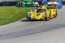 May 4, 2018 - Lexington, Ohio, United States of America - The JDC Miller Motorsports ORECA car races through the turns at the Acura Sports Car Challenge at Mid Ohio Sports Car Course in Lexington, Ohio. (Credit Image: © Walter G Arce Sr Asp Inc/ASP via ZUMA Wire)
