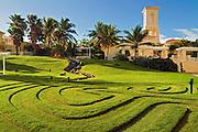El Conquistador Resort, Maze, Labyrinth,  Las Casitas Village,  Las Croabas, Fajardo, Puerto Rico, USA,  Caribbean; Island; Greater Antilles; Commonwealth Puerto Rico