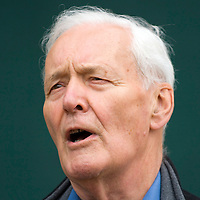 EDINBURGH, SCOTLAND - AUGUST15. Politician Tony Benn poses during a portrait session held at Edinburgh Book Festival on August 15, 2006  in Edinburgh, Scotland. (Photo by Marco Secchi/Getty Images).