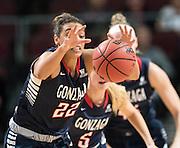 Gonzaga lost to Santa Clara 59-58 in the WCC Tournament March 3 in Las Vegas (Photo by Ryan Sullivan)