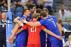 Russian team during the European Championship game Russia - Slovenia on August 26, 2017 in Krakow, Poland. (Photo by Krzysztof Porebski / Press Focus)