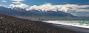 Kaikoura, Seaward Range panoramic